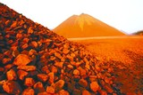 Sunset Glow of Rare Earth Mine